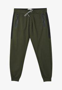 PULL&BEAR - Pantaloni sportivi - khaki - 6