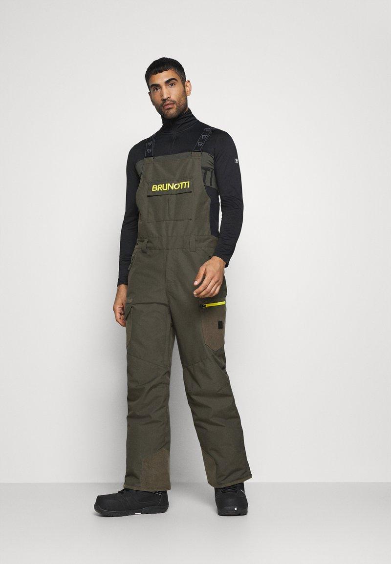 Brunotti - Zimní kalhoty - pine grey