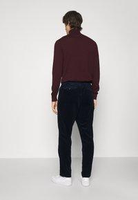 Polo Ralph Lauren - FLAT PANT - Pantalon classique - hunter navy - 2
