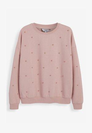 EMBELLISHED - Sweatshirt - pink
