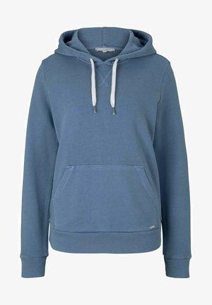 Hoodie - soft mid blue