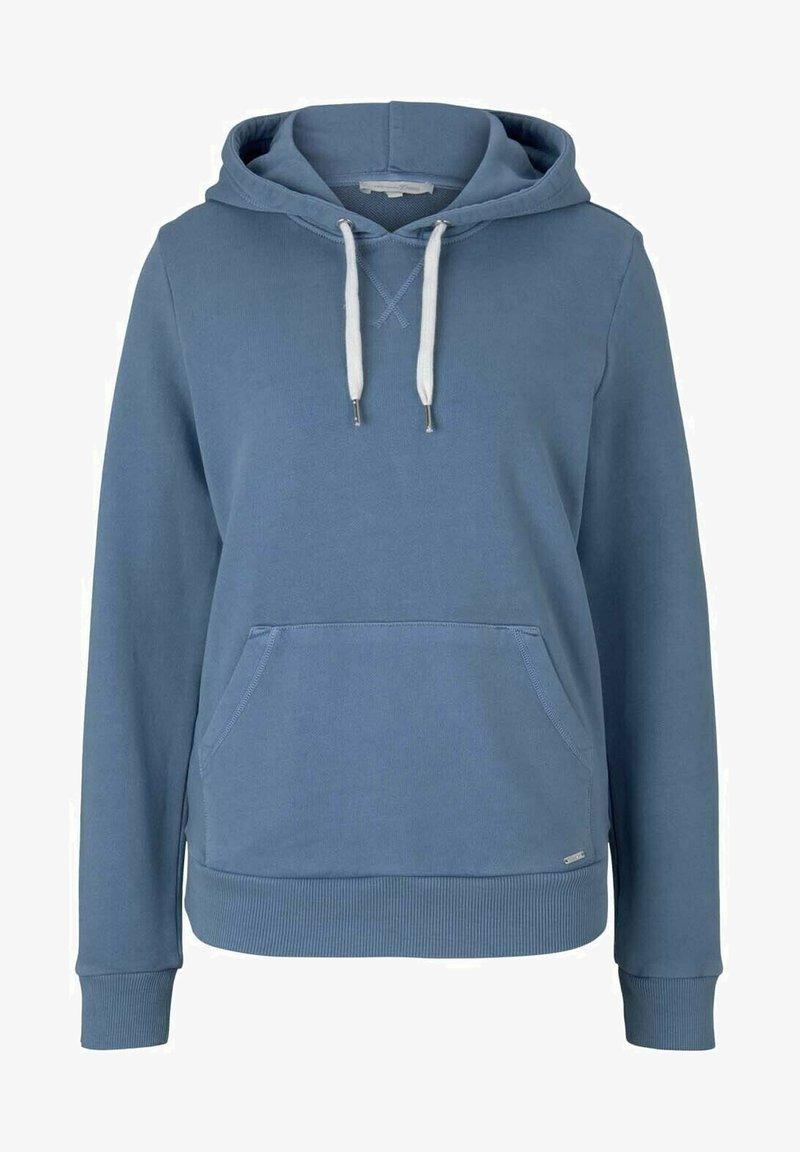 TOM TAILOR DENIM - Hoodie - soft mid blue
