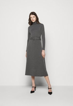 MELISSAH DRESS - Jumper dress - charcoal heather