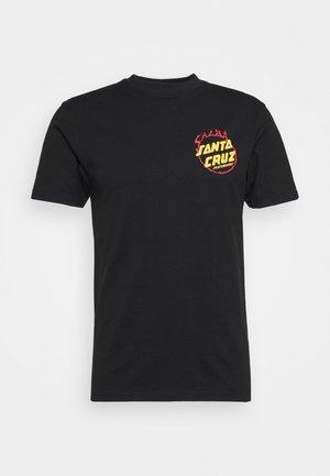 SALBA TIGER CLUB UNISEX - T-shirt imprimé - black