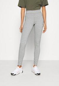 Nike Sportswear - Legging - grey heather/white - 0