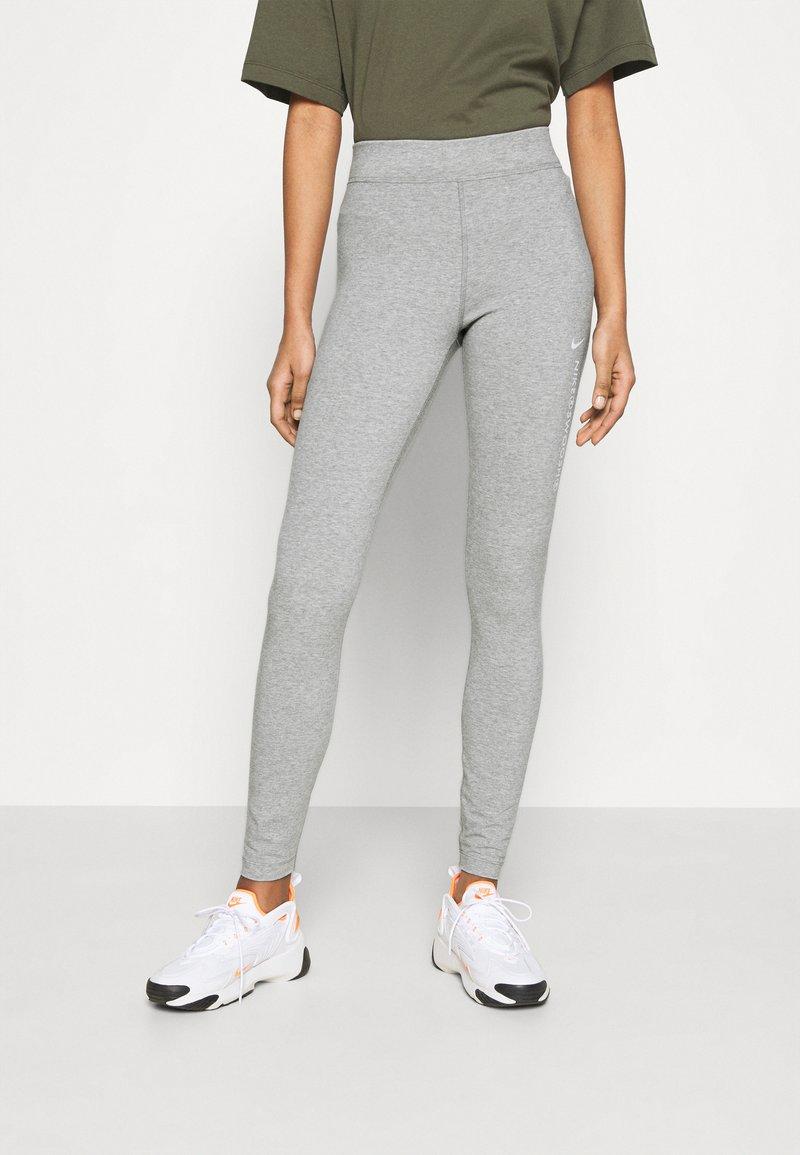 Nike Sportswear - Legging - grey heather/white