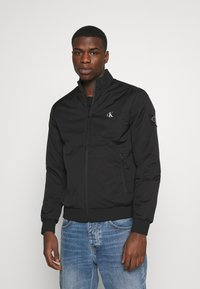 Calvin Klein Jeans - ZIP UP HARRINGTON - Bomber Jacket - black - 0