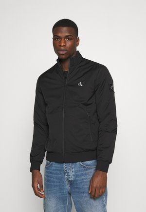 ZIP UP HARRINGTON - Kurtka Bomber - black