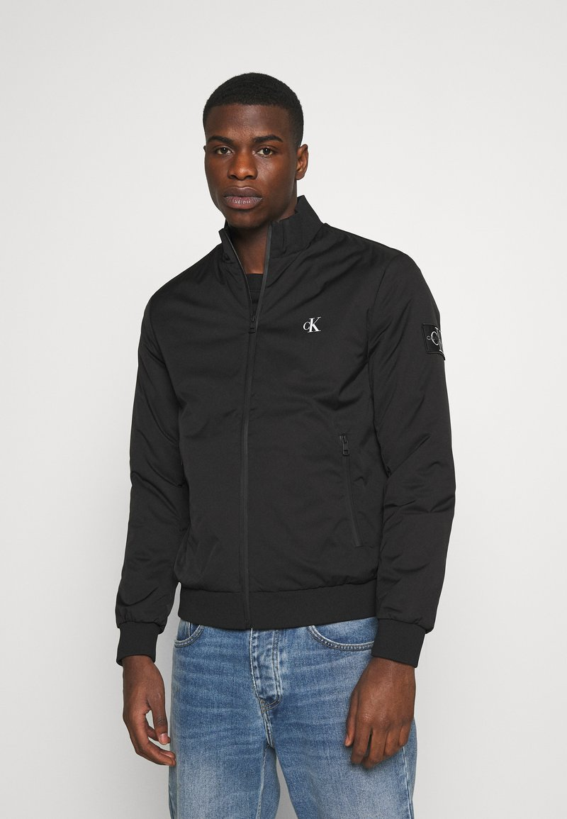 Calvin Klein Jeans - ZIP UP HARRINGTON - Bomber Jacket - black