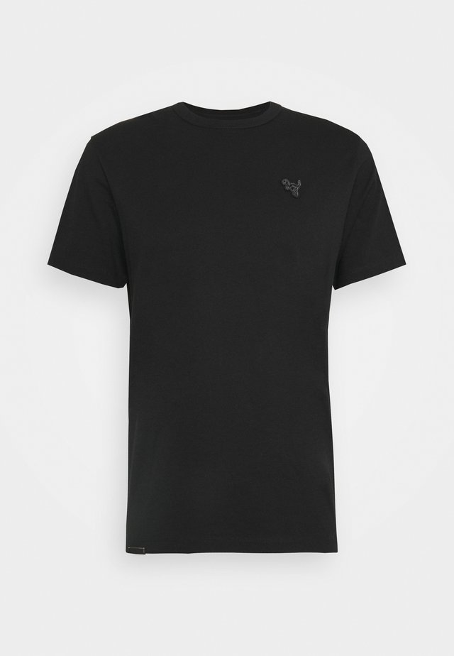 ESSENTIAL - Jednoduché triko - black