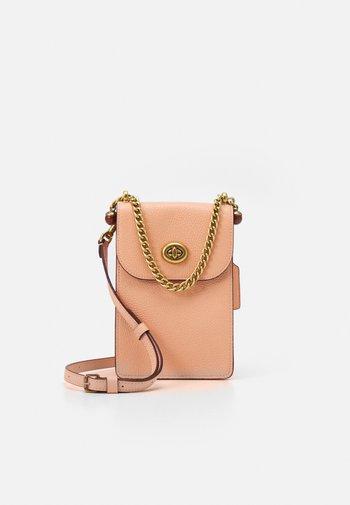 LIV PHONE CROSSBODY - Across body bag - faded blush