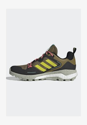 TERREX SKYCHASER 2 - Hiking shoes - wild moss/acid yellow/acid mint