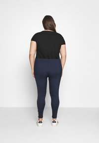 Tommy Jeans Curve - TAPE - Leggings - Trousers - twilight navy - 2