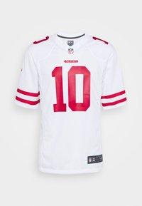 NFL SAN FRANCISCO JIMMY GAROPPOLONIKE GAME ROAD - Klubtrøjer - white