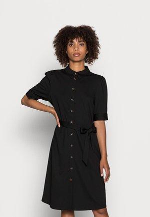 NANNI - Žerzejové šaty - black