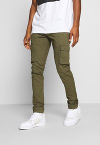 Denim Project - PANT - Cargo trousers - green - 0