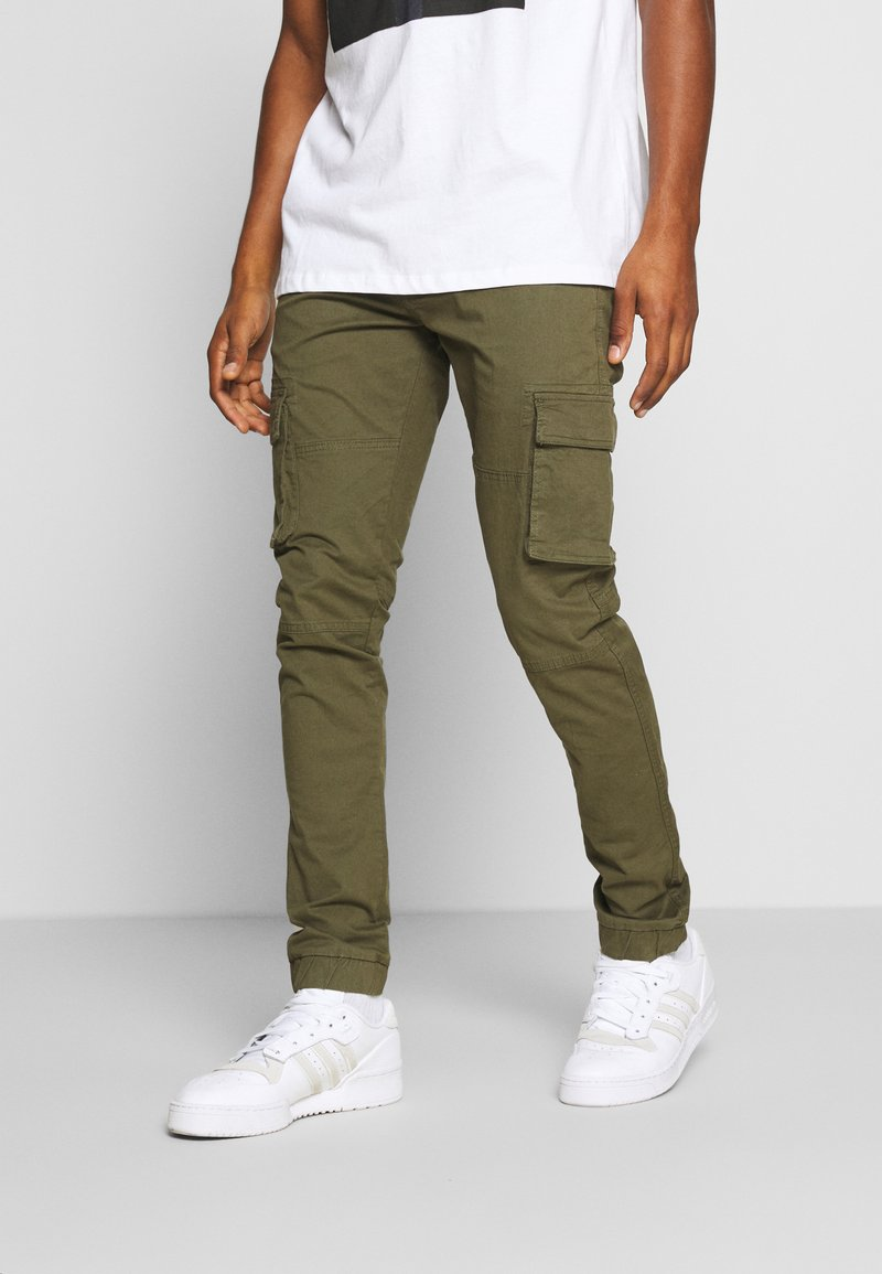 Denim Project - PANT - Cargo trousers - green