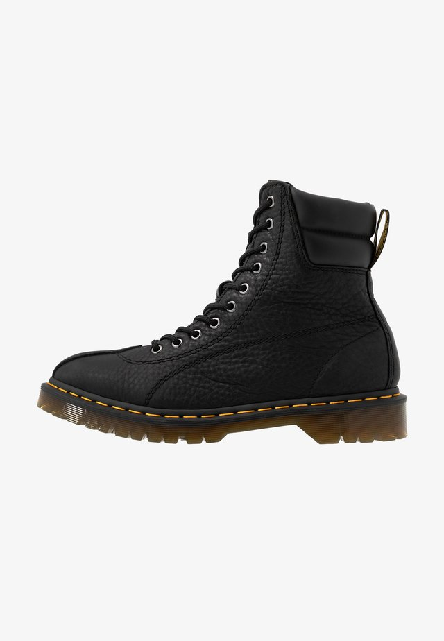 SANTO - Bottines à lacets - black