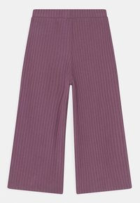Lindex - MINI TROUSERS COSY  - Trousers - light dusty lilac - 1