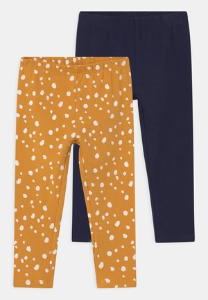 2 PACK - Leggings - Trousers - golden rod