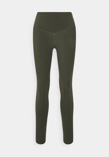 REAL ME BASIC - Leggings - Trousers - olive daze