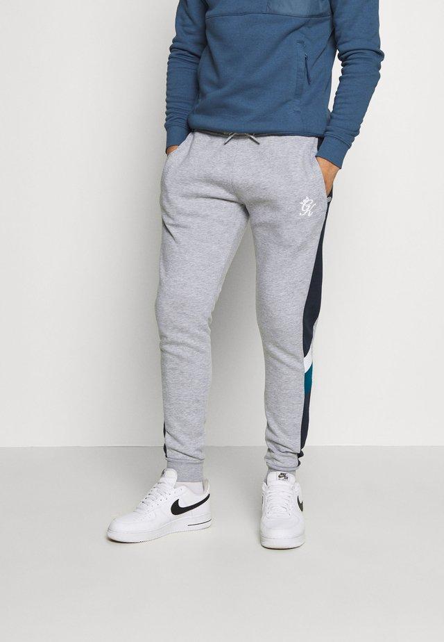 CAPONE - Jogginghose - grey mark/ink blue