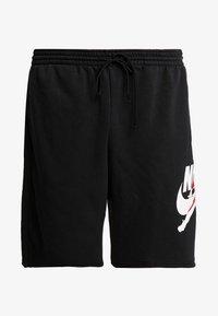 Jordan - JUMPMAN CLASSICS  - Teplákové kalhoty - black/white/gym red - 4