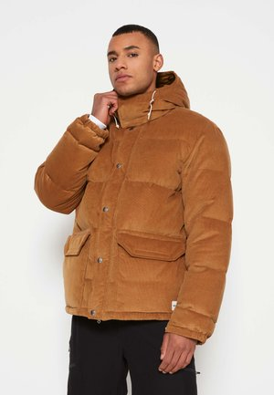 SIERRA PARKA UTILIT - Down jacket - utility brown