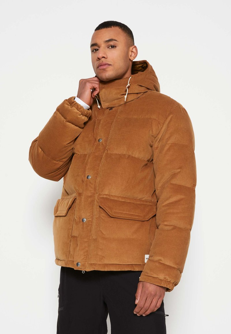 The North Face - SIERRA PARKA UTILIT - Down jacket - utility brown