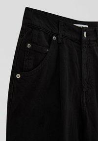 PULL&BEAR - Pantalon classique - black - 7