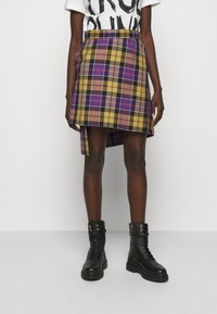 Vivienne Westwood - CASE SKIRT - Mini skirt - multicoloured - 0