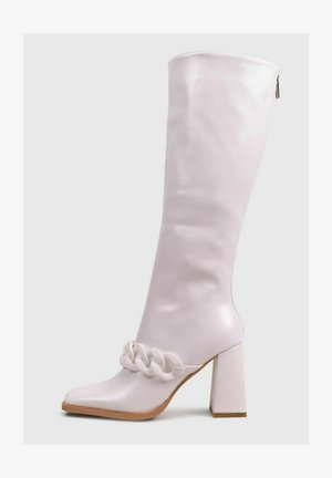 PARIS PUNTA - Stivali con i tacchi - white