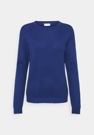 VICHASSA - Stickad tröja - mazarine blue