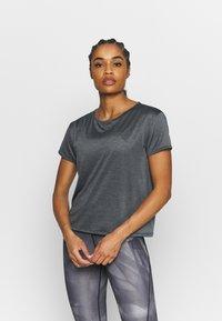 Under Armour - TECH VENT - T-shirt basique - black - 0