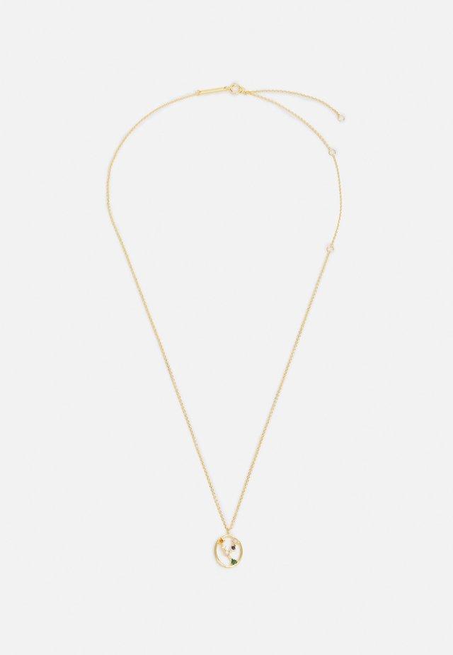 ZODIAC SIGN - Collier - gold-coloured