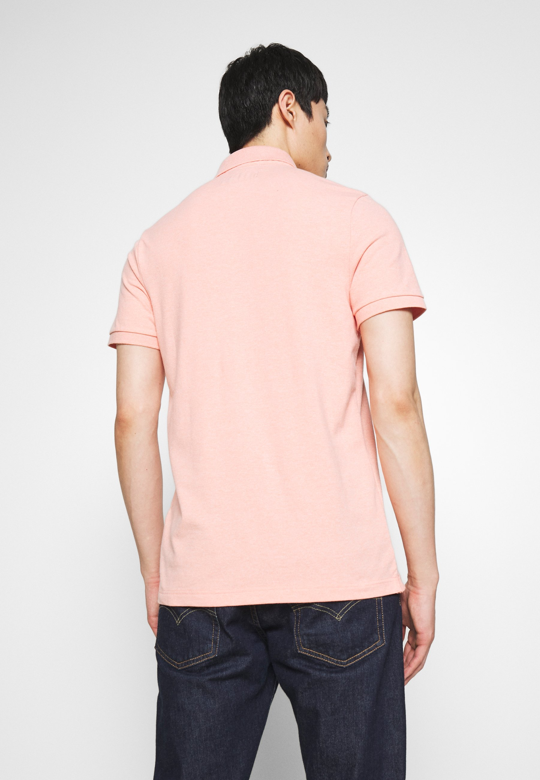 Abercrombie & Fitch Polo - coral siro