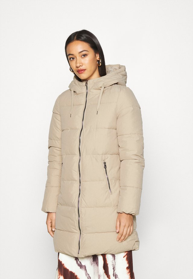 ONLDOLLY LONG PUFFER - Winter coat - humus