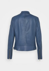 Belstaff - NEW MOLLISON JACKET - Veste en cuir - racing blue - 9