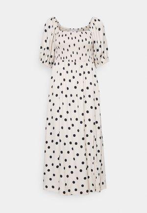 DORA SHORT DRESS - Day dress - offwhite/black