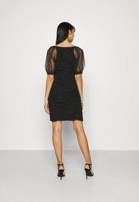 ONLY - ONLDANCE PUFF DRESS  - Cocktail dress / Party dress - black - 2
