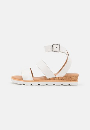WICINIA - Sandály na klínu - white