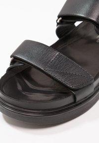 Vagabond - ERIN - Sandals - black - 6