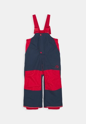 TOOPE UNISEX - Skibroek - navy/red