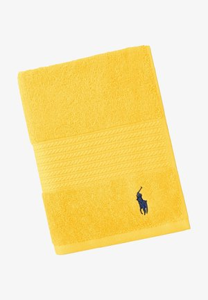 HANDTUCH POLO PLAYER - Towel - jaune
