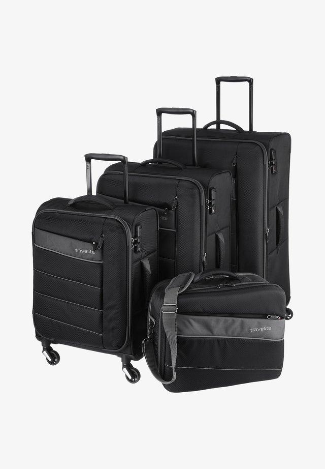 KITE - Luggage set - black