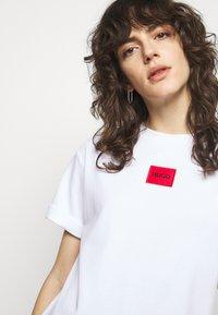 HUGO - NEYLETE REDLABEL - Jersey dress - white - 3