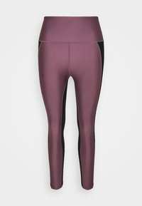PANEL ANKLE - Tights - ash plum