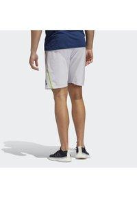 adidas Performance - PRIMEBLUE SHORTS - Pantalón corto de deporte - grey - 1