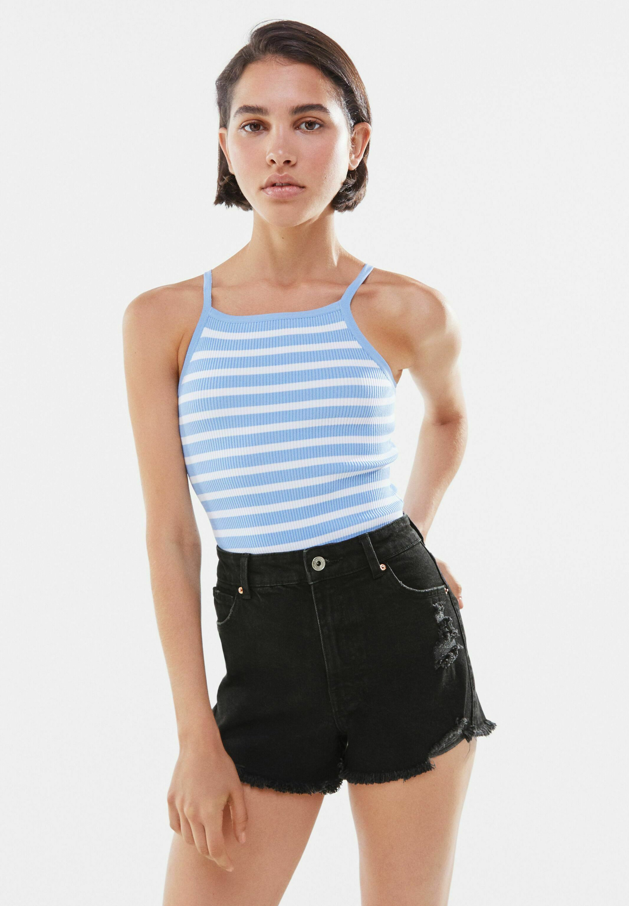 Donna Shorts di jeans
