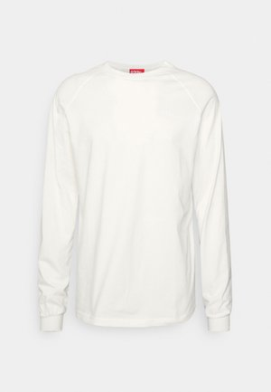 BACKSTAGE RAGLAN UNISEX - Bluzka z długim rękawem - natural white